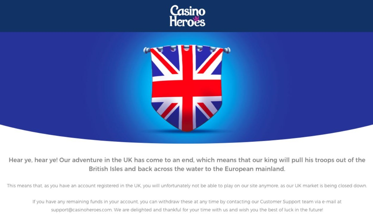 Casino Heroes Brexit