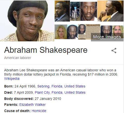 Abraham Shakespeare